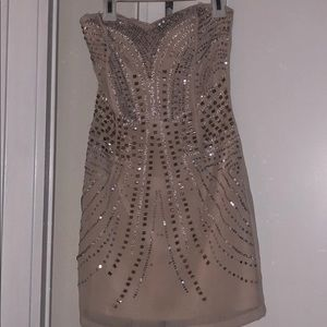 Beaded and Sequin H&M dress